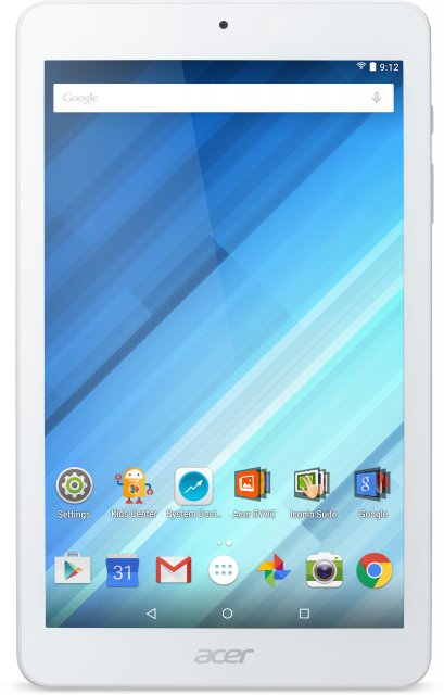 Планшет Acer Iconia B1-850 8.0\'\' 16Gb White acer iconia talk s a1 724 7 16gb lte blue