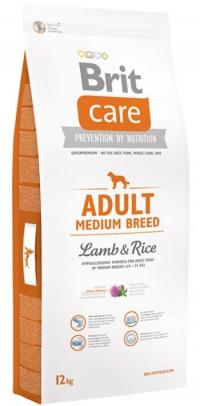 Сухой корм д/собак Brit Care Adult Medium Breed средн.пород ягненок с рисом 12кг сухой корм brit care dog endurance для активных собак утка с рисом 12кг