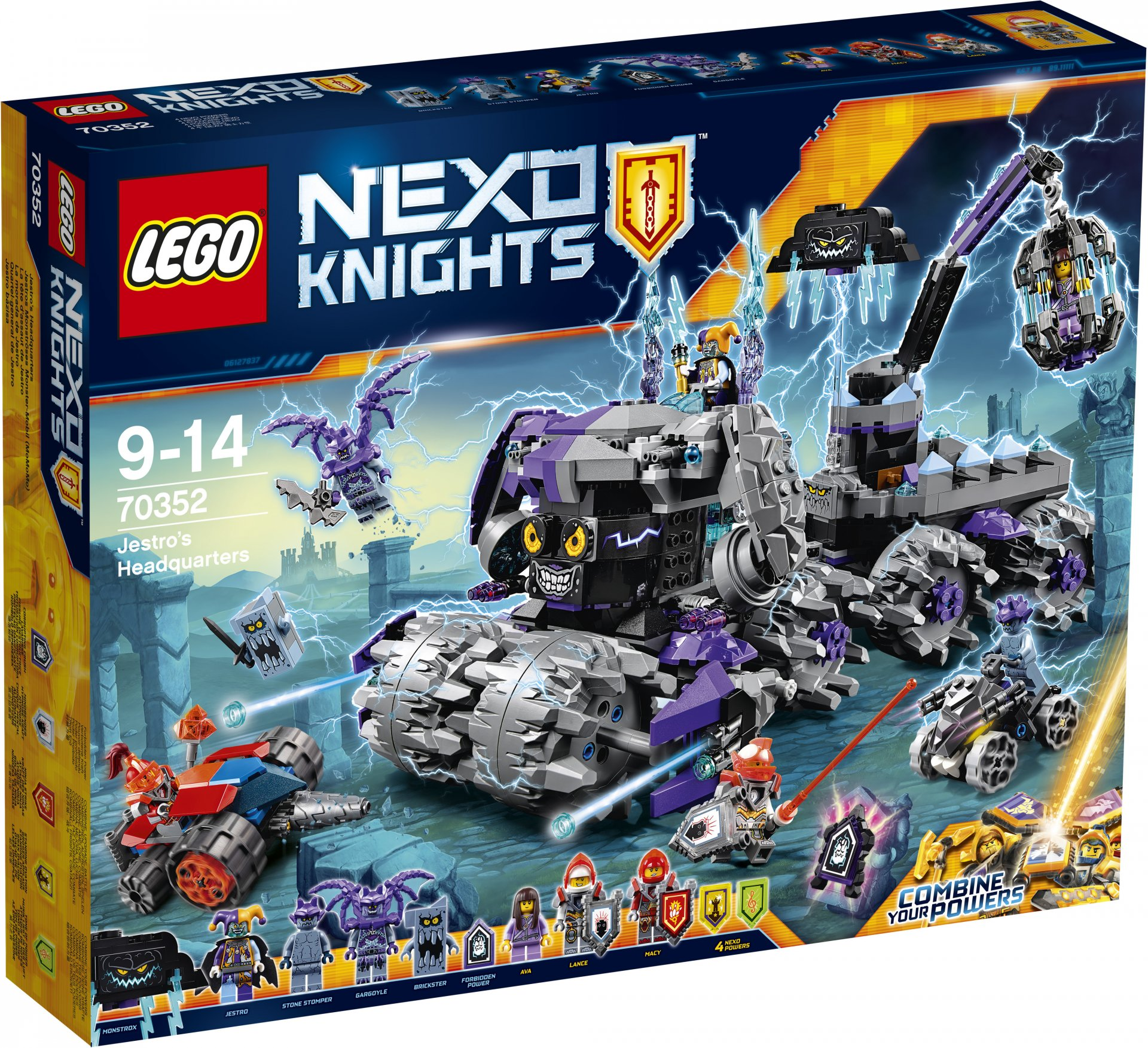 LEGO Knights Nexo 70352 - Армия Джестро стол раскладной сп 04 1 лдсп ноче экко
