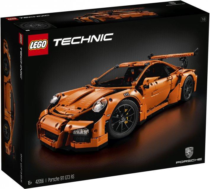 LEGO Technic 42056 Порше 911 GT3 RS lego technic ремонтный автокран 42031