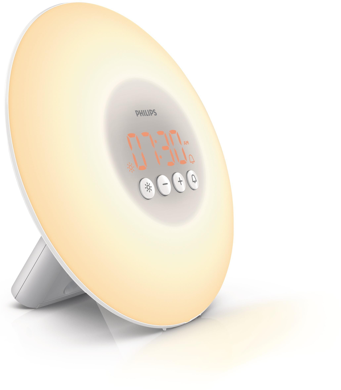 Световой будильник Philips HF3500/01 Wake-up Light philips световой будильник hf3505 70
