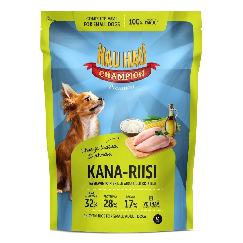 Корм для собак малых пород Hau-Hau Champion 1,5 кг hau hau champion купить в мурманске