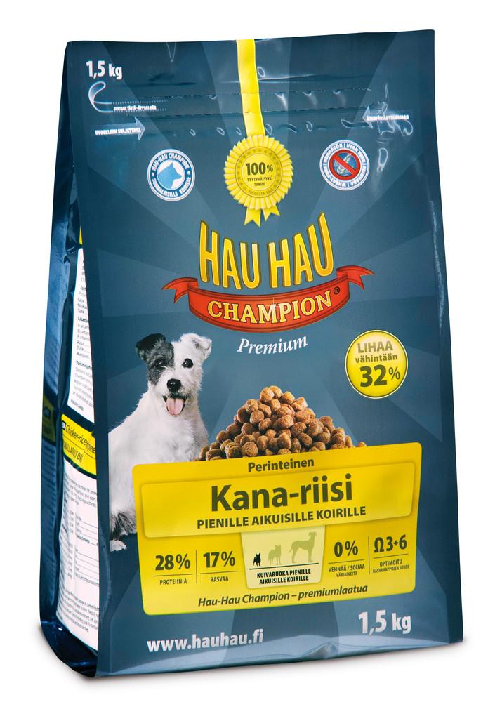 Hau-Hau Champion сухой корм для маленьких собак 1,5кг hau hau champion купить в мурманске