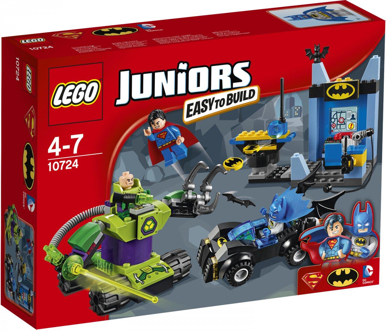LEGO Juniors 10724 Бэтмен и Супермен против Лекса Лутора lego lego juniors 10677