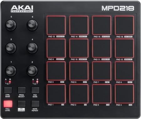 MIDI-контроллер Akai MPD218 midi контроллер g volca sample