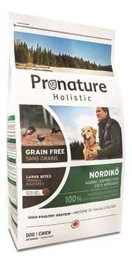 Сухой корм для собак Pronature Holistic GF Нордико 340 гр (крупная гранула)  сухой корм для собак pronature holistic gf нордико 6кг мелкая гранула