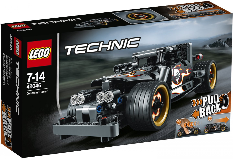 LEGO Technic 42046 Гоночный автомобиль для побега lego technic конструктор гоночный автомобиль для побега