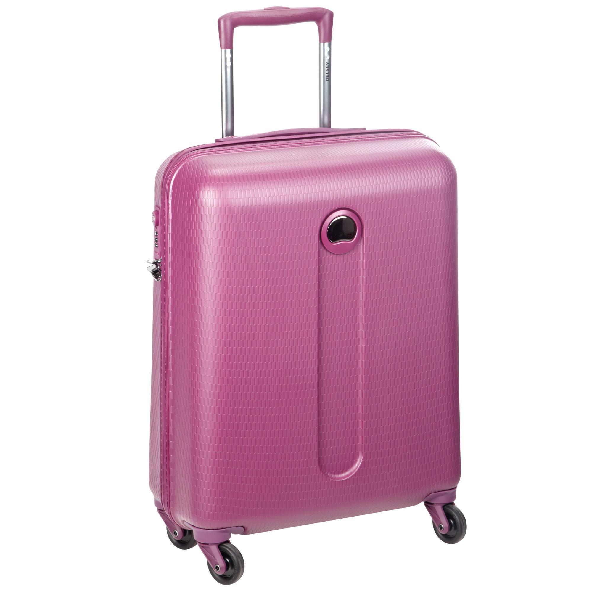 Чемодан Delsey Helium Slim Cabin Trolley 54 см фиолетовый