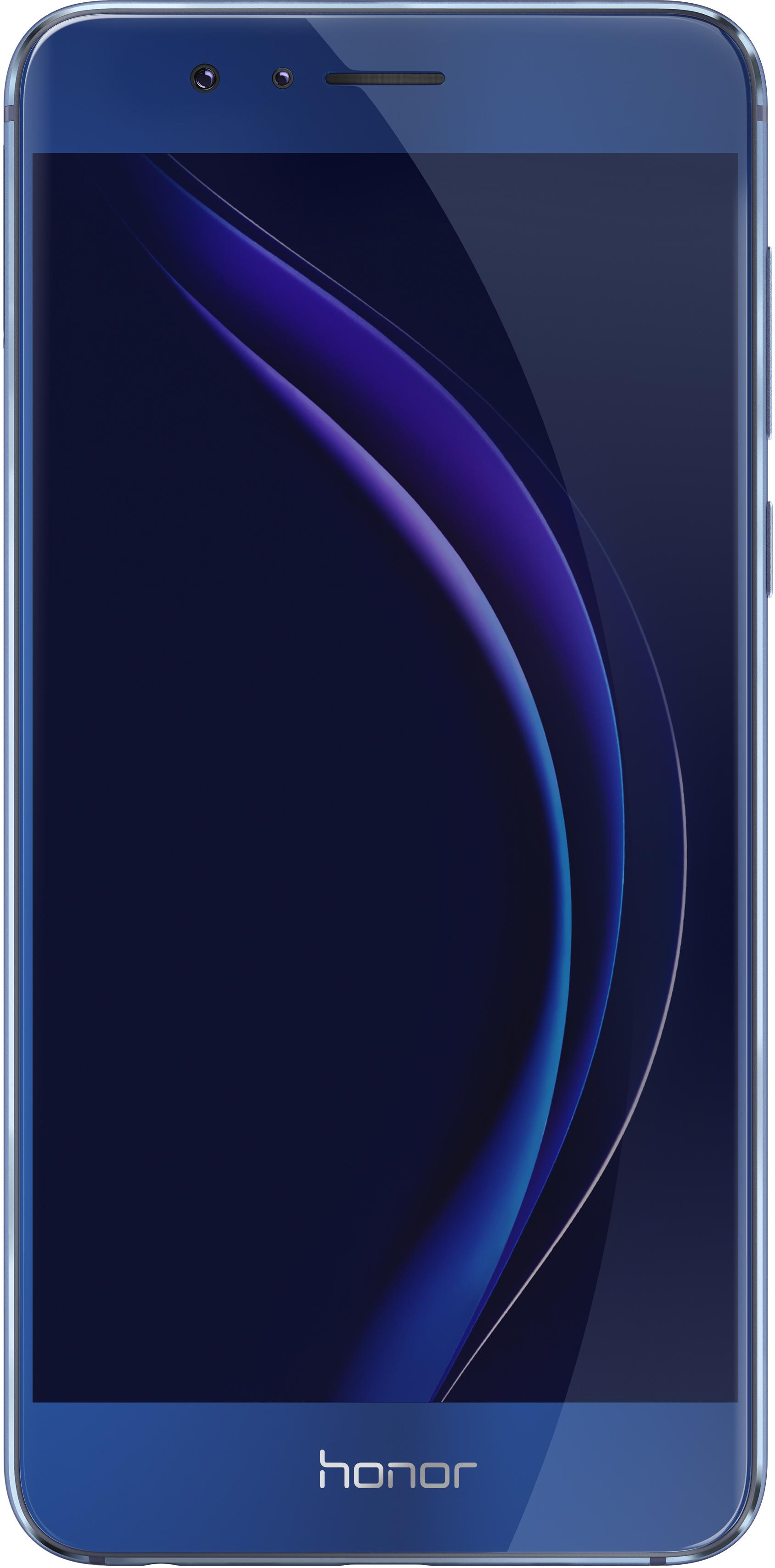 Смартфон Huawei Honor 8 синий сотовый телефон huawei honor 8 pro black