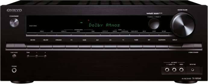 Ресивер Onkyo TX-NR545 onkyo tx nr545 silver