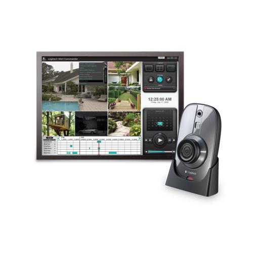 Logitech Системы видеонаблюдения Logitech 750i готовый комплект комплект видеонаблюдения