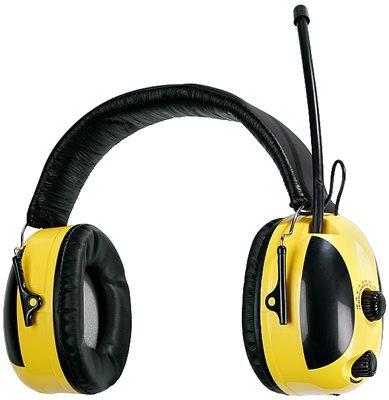 Наушники защитные противошумные  с радио наушники саундтроникс с радио