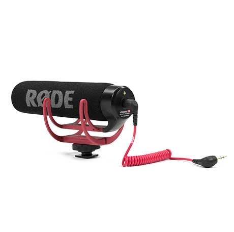 Микрофон Rode VideoMic Go rode videomic go on camera shotgun microphone for canon nikon sony dslr dv camcorder