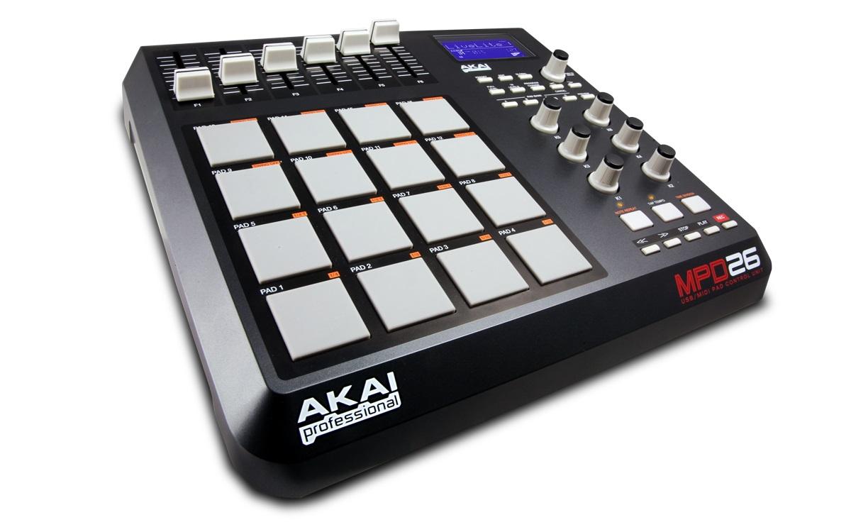 MIDI-контроллер Akai MPD26 midi контроллер g volca sample
