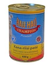 Паштет для собак Hau-Hau Champion \Курца и рис\ 400 г hau hau champion купить в мурманске