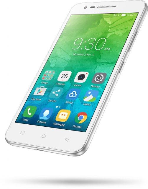 Смартфон Lenovo C2 Power 16GB White смартфон lenovo vibe c2 power 16gb k10a40 white