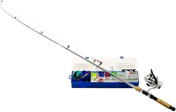 телескопическая удочка с катушкой купить