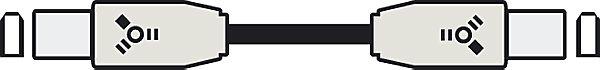 Кабель Firewire  IEEE 1394 1.5м delonghi fh 1394 white