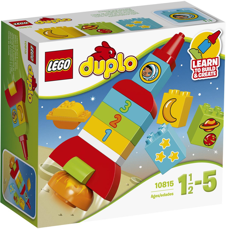 LEGO DUPLO 10815 Моя первая ракета конструктор lego duplo моя первая ракета 18 элементов 10815
