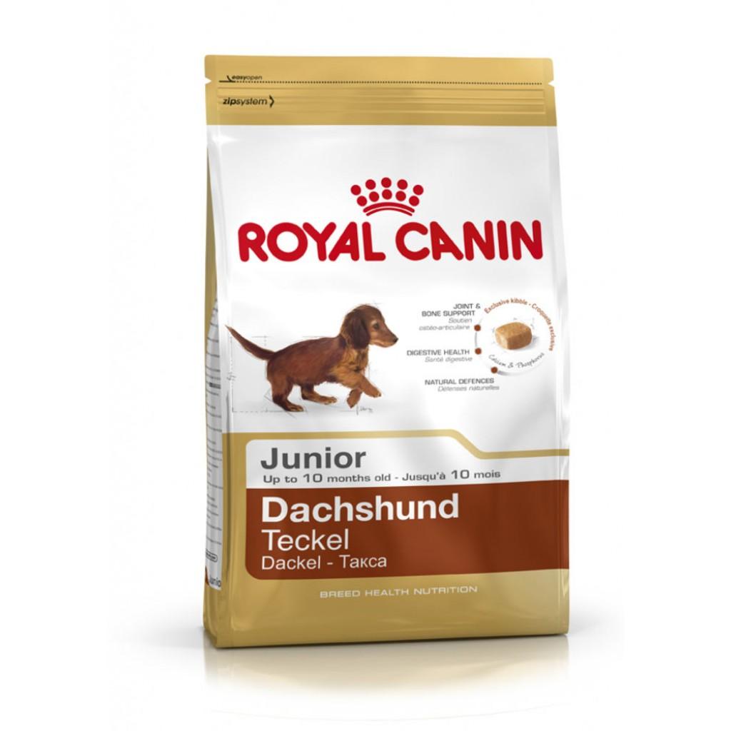 Сухой корм для щенков породы \Такса\ Royal Canin Junior 1,5 кг