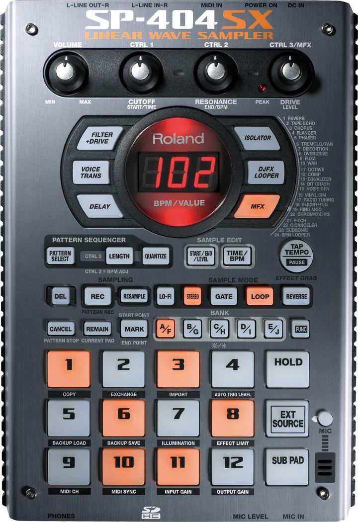 Сэмплер Roland SP-404SX roland sp 540i