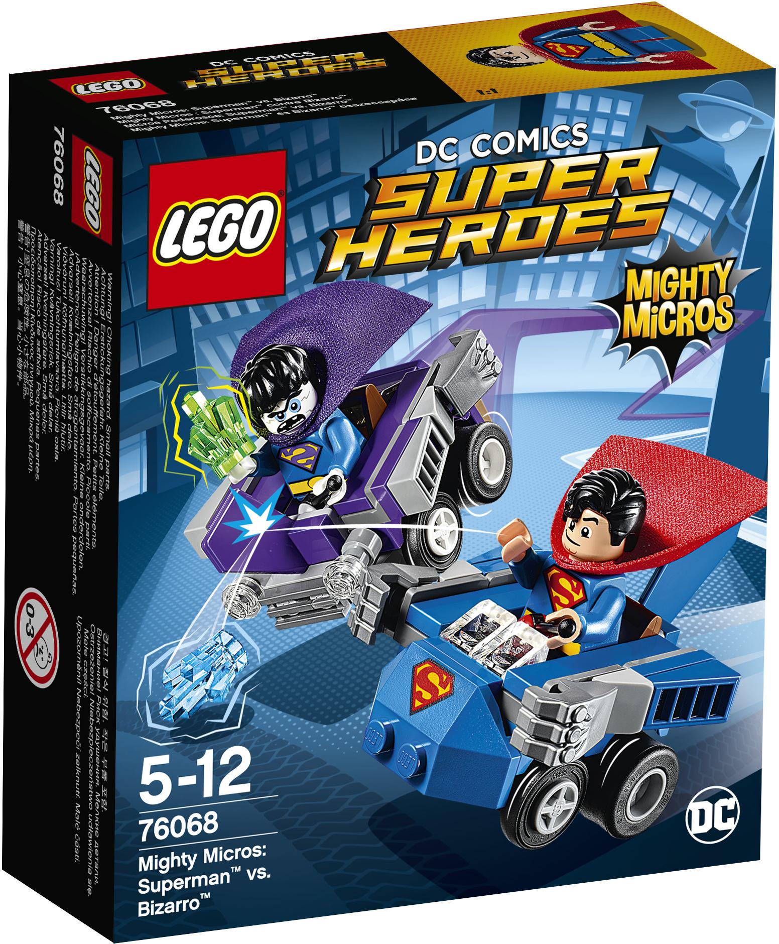 LEGO Super Heroes 76068 - Супермен против Бизарро конструктор lego super heroes супермен против бизарро 76068