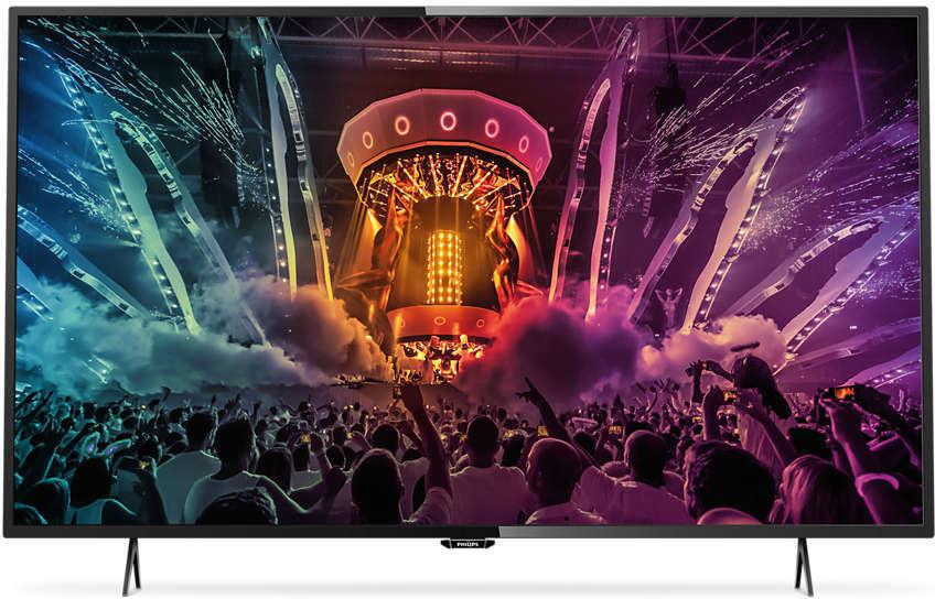 Телевизор LED Philips 49PUT6101 ибп eaton 5px 2200i rt2u 2200va line interactive 5px2200irt