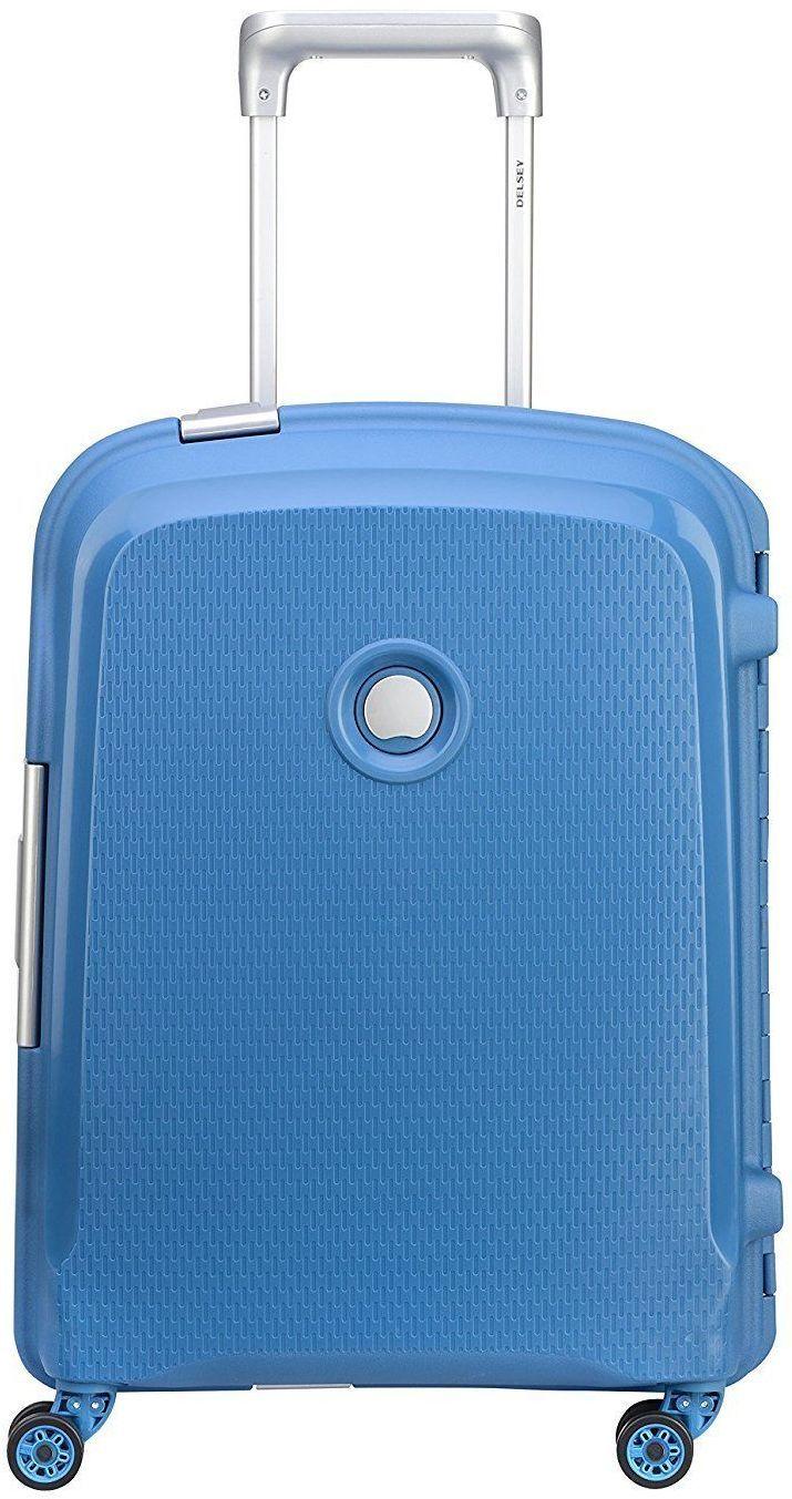 d29951df5 Чемодан Delsey Belfort Plus Slim Cabin Trolley Case 55 см синий ...