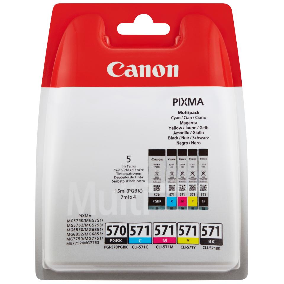 Картридж Canon PGI-570/CLI-571 CAN570VAL dali 16 2 1б