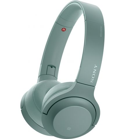 Фото 0 Наушники Sony h.ear on 2 Mini Wireless, зеленые