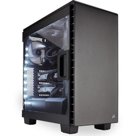 Компьютерный корпус Corsair Carbide Series Clear 400C Black