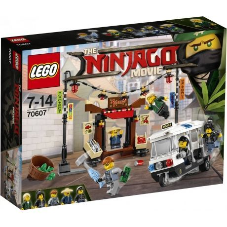 Конструктор LEGO The Ninjago Movie 70607 Ограбление в Ниндзяго Сити