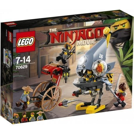 Конструктор LEGO The Ninjago Movie 70629 Нападение пираньи