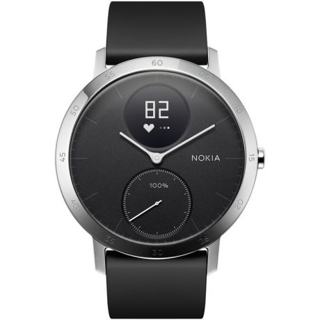 Часы Nokia Steel HR 40 мм черные