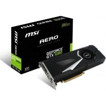 Видео карта MSI GeForce GTX 1080 AERO 8G OC 8192 Mt, PC