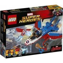 LEGO Marvel Super Heroes 76076 Воздушная погоня Капитана Америки