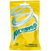 Жвачка Airwaves Lemon Ice 35 гр