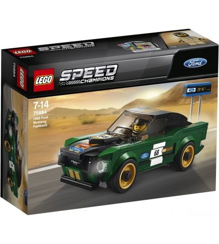 Фото 0 Конструктор LEGO Speed Champions 75884 1968 Ford Mustang Fastback
