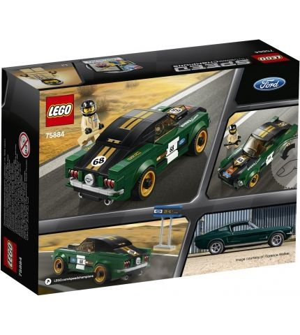 Фото 1 Конструктор LEGO Speed Champions 75884 1968 Ford Mustang Fastback