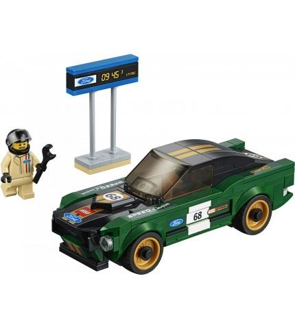 Фото 2 Конструктор LEGO Speed Champions 75884 1968 Ford Mustang Fastback