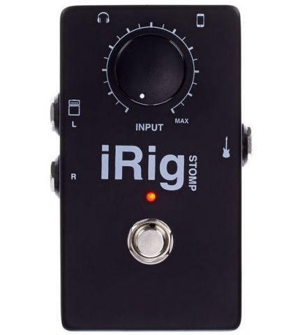 Фото 0 Эффект IK Multimedia iRig Stomp для гитары