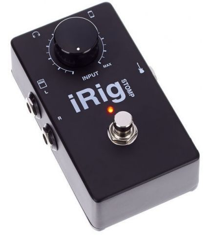 Фото 4 Эффект IK Multimedia iRig Stomp для гитары