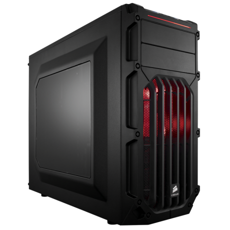 Компьютерный корпус Corsair Carbide Series SPEC-01 Black/red