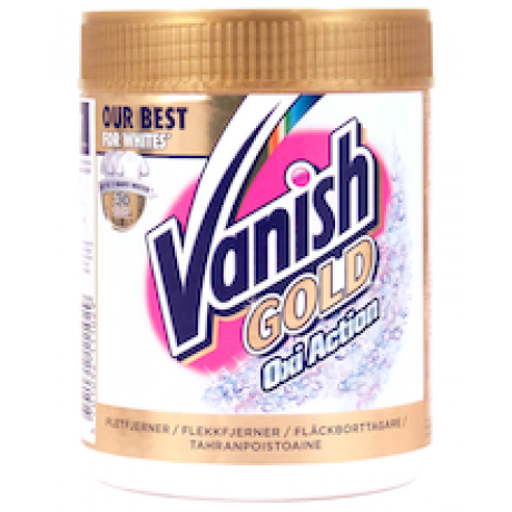 Пятновыводитель Vanish GOLD White 470мг