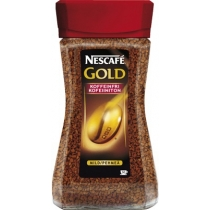 Кофе растворимый Nescafe Gold без кофеина 100 грамм