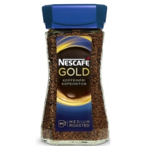 Кофе растворимый Nescafe Gold без кофеина 100 гр