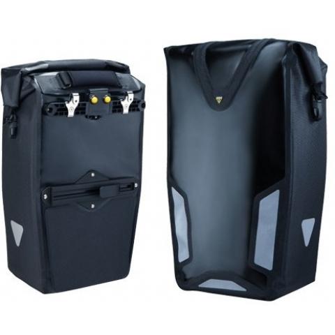 62f54804f807 Велосумка на багажник боковая Topeak Pannier Dry Bag DX, черная ...
